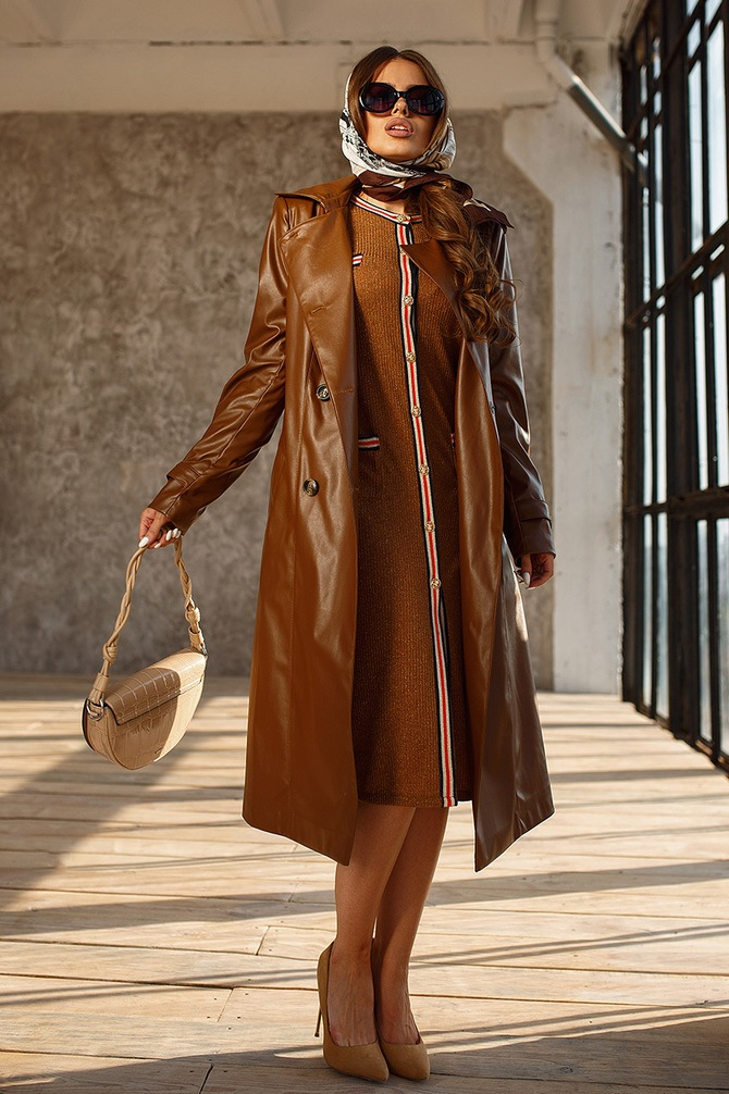 Leather raincoats 43