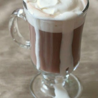 Spiked Hot Chocolate.