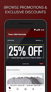 Texas A&M Bookstore - náhled