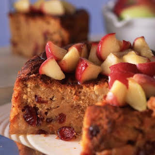 Apple and Cranberry Cake.