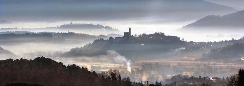 Nebbie mattutine in Casentino di marvig51