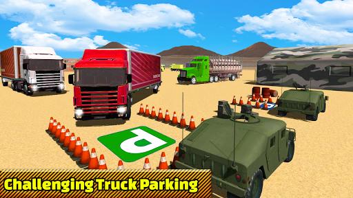 Truck Parking Adventure 3D:Impossible Driving 2018 apkpoly screenshots 6