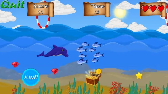 Dolphin Run- screenshot thumbnail
