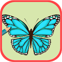 Adult Coloring For Butterfly icon