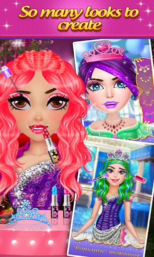 maquillage Princesse jeux- dress Spa jeux 2019  captures d'écran 1