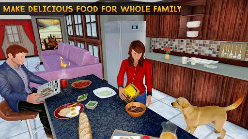 Family Pet Dog Home Adventure Game apktreat screenshots 2