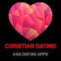 Christian Dating App - AGA icon