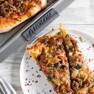 Beef Puttanesca Pizza