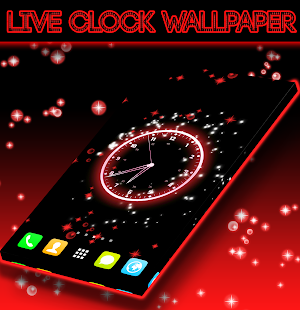 Live Clock Wallpaper- screenshot thumbnail
