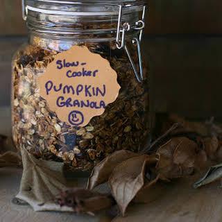 Slow Cooker Pumpkin Granola.