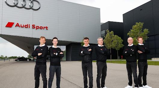 """Carlos Sainz y Lucas Cruz, en el """"Dream Team"""" de Audi para el Dakar 2022"""