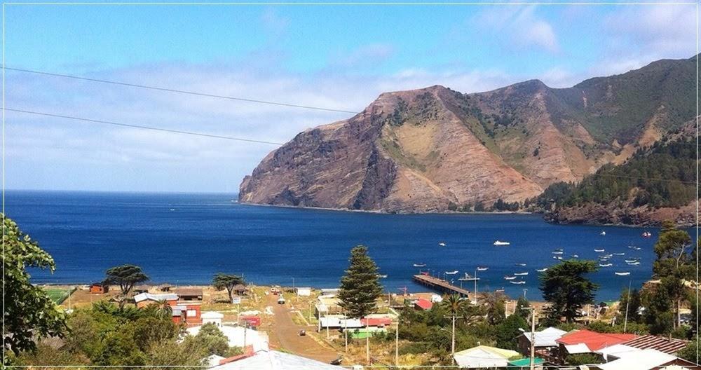A ilha de Robinson Crusoé no Chile