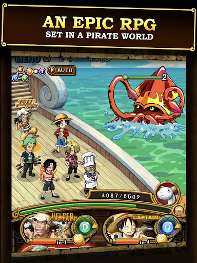 One Piece Treasure Cruise [Mod] – Pirate Island