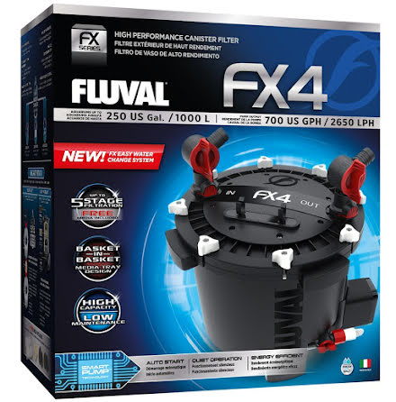 Fluval FX4 2650l/h 30W Ytterfilter