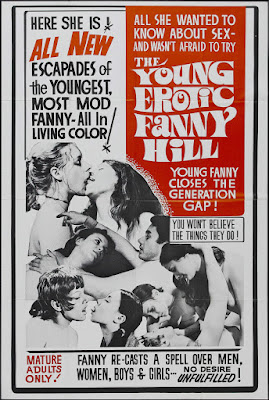 The Young, Erotic Fanny Hill (1971, USA) movie poster