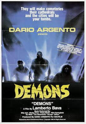 Demons (Dèmoni) (1985, Italy) movie poster