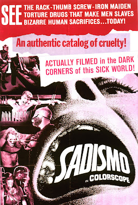 Sadismo (1967, USA) movie poster