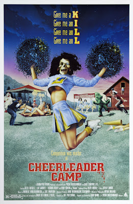 Cheerleader Camp (1987, USA / Japan) movie poster