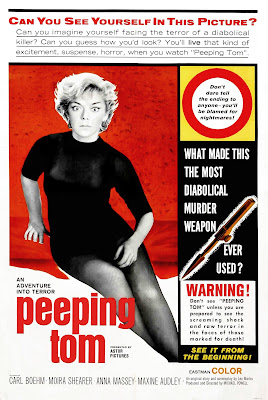 Peeping Tom (1960, UK) movie poster