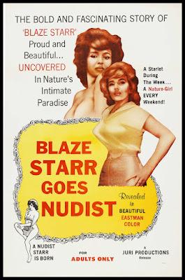 Blaze Starr Goes Nudist (1962, USA) movie poster