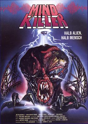 Mindkiller (1987, USA) movie poster