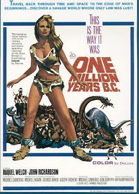 One Million Years B.C. (1966, UK) movie poster