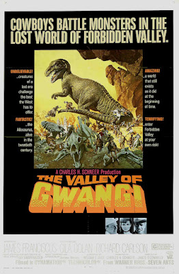 The Valley of Gwangi (1969, USA) movie poster