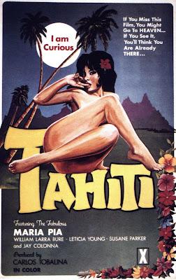 I Am Curious Tahiti (1970, USA) movie poster