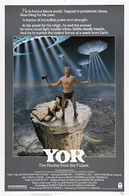 Yor, the Hunter from the Future (Il Mondo di Yor) (1983, Italy / France / Turkey) movie poster