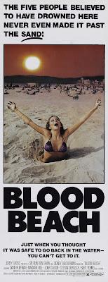 Blood Beach (1981, USA) movie poster