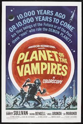 Planet of the Vampires (Terrore nello spazio / Terror in Space) (1965, Italy / Spain)