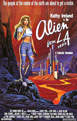 Alien from L.A. (1988, USA) movie poster