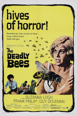 The Deadly Bees (1967, UK) movie poster