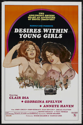 Desires Within Young Girls (1977, USA) movie poster