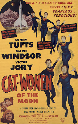 Cat-Women of the Moon (1953, USA) movie poster