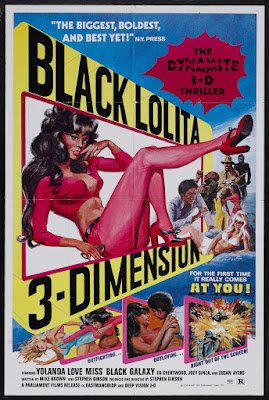 Black Lolita (aka Wildcat Women) (1975, USA) movie poster