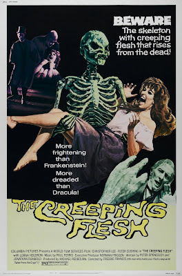 The Creeping Flesh (1973, UK) movie poster