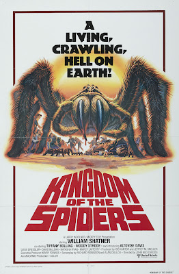 Kingdom of the Spiders (1977, USA) movie poster