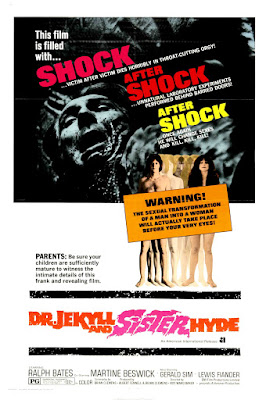 Dr Jekyll & Sister Hyde (1971, UK) movie poster