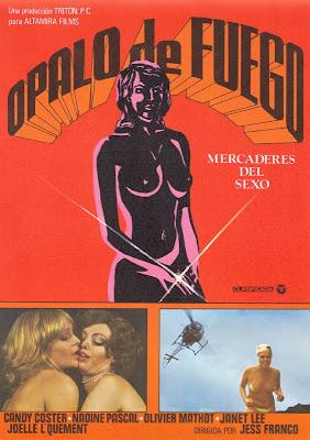 Fire Opal: Sex Merchants (Ópalo de fuego: Mercaderes del sexo) (1980, Spain / Portugal) movie poster