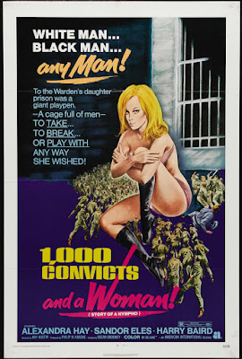 1000 Convicts and a Woman (aka Story of a Nympho) (1971, UK) movie poster