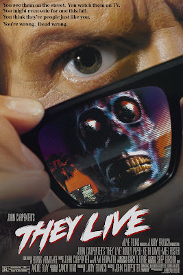 They Live (1988, USA) movie poster