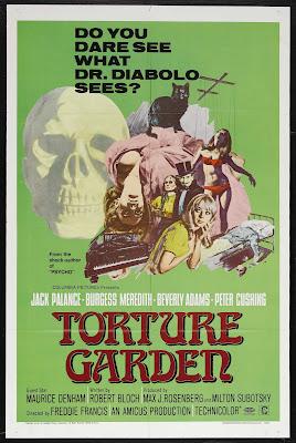 Torture Garden (1967, UK) movie poster