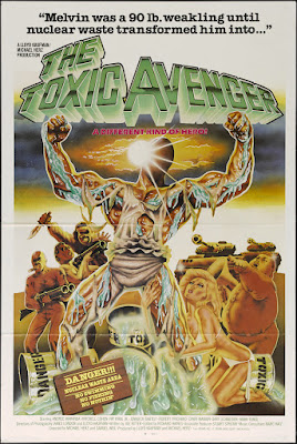 The Toxic Avenger (1985, USA) movie poster