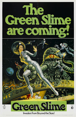The Green Slime (1968, USA / Japan / Italy) movie poster