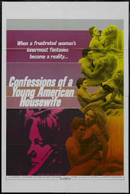 Confessions of a Young American Housewife (1974, USA) movie poster