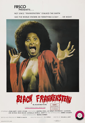 Blackenstein (aka Black Frankenstein) (1973, USA) movie poster