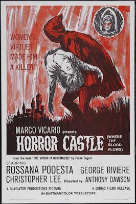 The Virgin of Nuremberg (La Vergine di Norimberga, aka Horror Castle) (1963, Italy) movie poster
