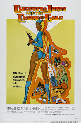Cleopatra Jones and the Casino of Gold (1975, USA / Hong Kong) movie poster