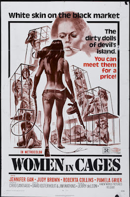 Women in Cages (aka Women's Penitentiary III) (1971, USA / Philippines) movie poster